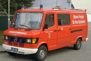 Kleinlöschfahrzeug  Mercedes 310