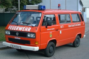 Mannschaftstransportfahrzeug VW Kombi CL