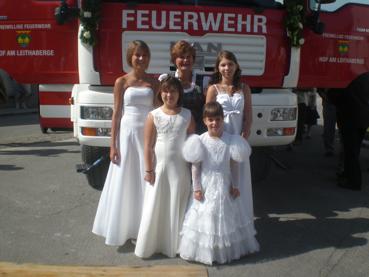 vl. Markowitsch Melanie, Eibl Victoria, Patin Germershausen Gertrude Winter Anika, Medwenitsch Karina